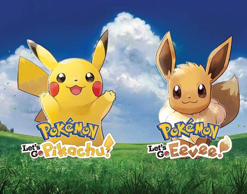 Pokemon Let's Go Eevee! (Nintendo), The Games Pub, thegamespub.com