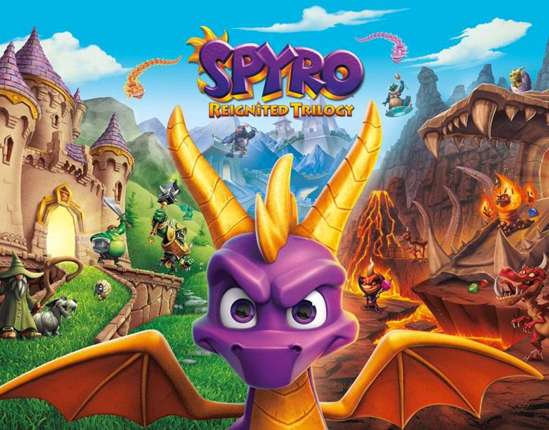 Spyro Reignited Trilogy (Xbox One), The Games Pub, thegamespub.com