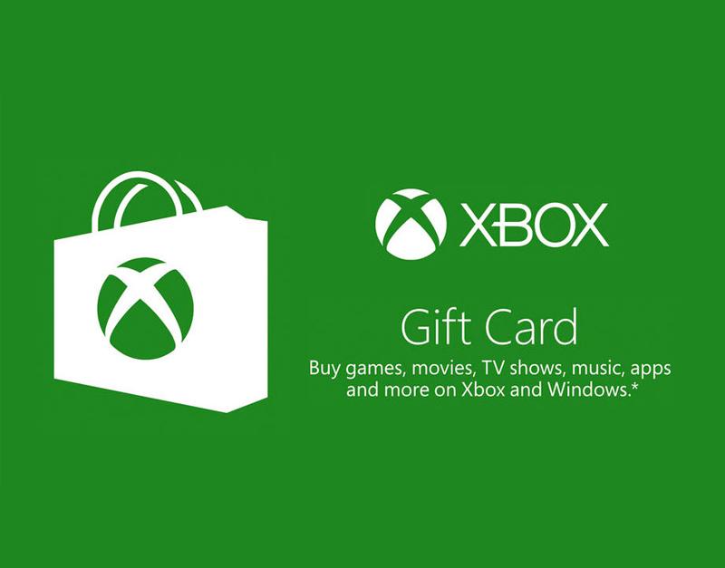 Xbox Live Gift Card, The Games Pub, thegamespub.com